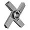 UM Cross knife S. Unger w/hub